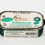 Small Sardines in Olive Oil