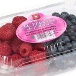Duo of Raspberries and Blueberries