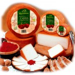 Goat Cheese with Paprika Spice